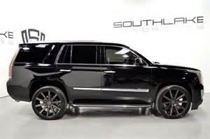 24 Inch Cadillac Escalade Rims 2015 Cadillac Escalade Luxury 24inch Black Dub Rims