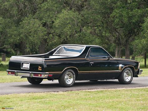 the black el camino chevrolet el camino black 1978 images 1280x960