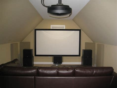 Small Attic Home Theater 25 Best Ideas About Attic Cave On