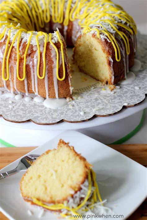 easy lemon bundt cake recipe page 2 of 2 pinkwhen