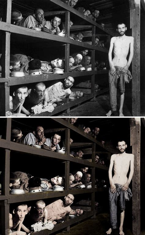 i colorized i colorized and restored holocaust pictures so