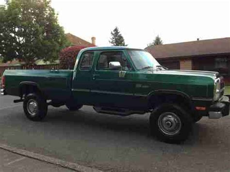 sell used 1993 dodge ram 2500 in north stratford new hshire united states for us 7 000 00 sell used 1993 dodge ram 250 le 4x4 club cab 12 valve 5 9 cummins diesel low miles in clackamas