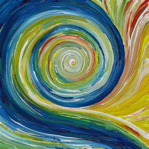 pattern visual art rhythm art the swirl in this painting communicates a