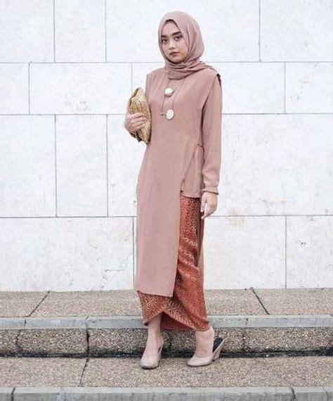 model kebaya wisuda modern simple  kebaya jilbab