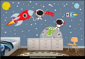 Kids Space Wall Stickers Decorating Theme Bedrooms Maries Manor Outer Space