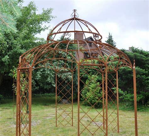 gartenpavillon metall gartenpavillon metall romantik rost 216 400cm