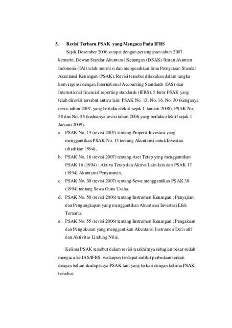 Akuntansi Dasar Berbasis Psak perkembangan standar akuntansi indonesia menuju