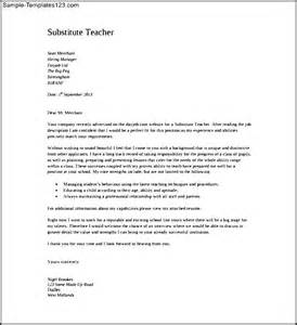 Pdf Cover Letter by Substitute Cover Letter Pdf Format Free