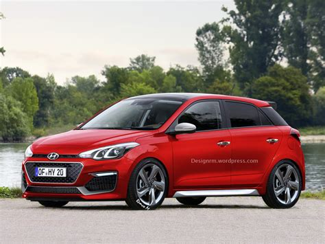 All Pro Hyundai by All New Hyundai I20 Rendered As N Hatch