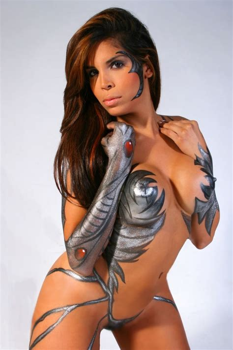hot paint china body painting models best tattoos designs body