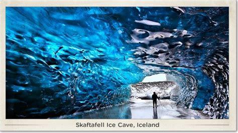 crystal ice cave iceland skaftafell ice cave iceland wanderlust pinterest