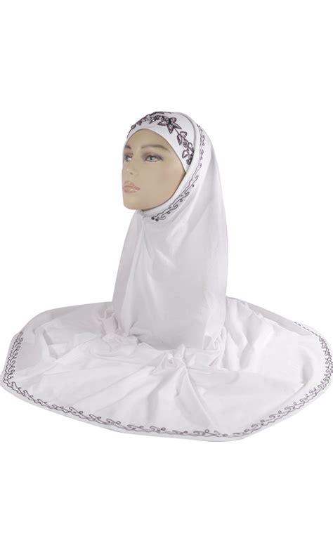 Amirah Purple white and purple sequin al amirah