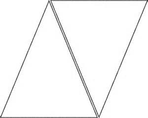 triangle template creative raisins mellow yellow birthday cake