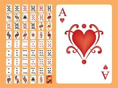 Playing Cards Vector Vector Art Graphics Freevector Com Card Vector Template