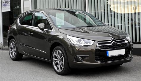 Citroen Ds4 by File Citro 235 N Ds4 Hdi 165 Sportchic Frontansicht 4 Juni