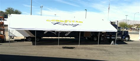 race awnings race car trailer awnings 28 images new featherlite