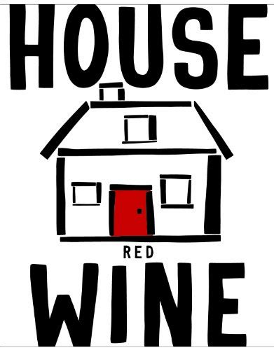 house wine 2014 house wine red blend american 750 ml