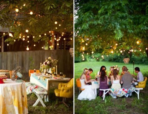 backyard dinner ideas luau wedding o seu dia mais inesquec 237 vel na praia