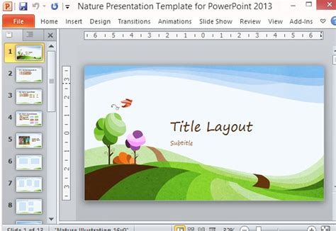 presentation themes nature presentation background nature images