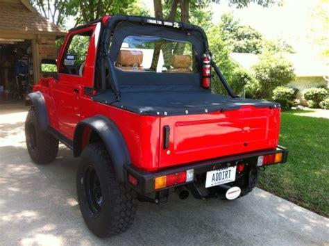 Suzuki Sidekick Convertible 987 Suzuki Samurai Jx Convertible For Sale Suzuki