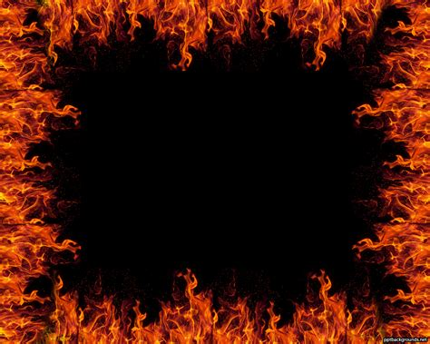 powerpoint themes free download fire fire flame background ppt 3195