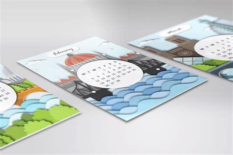 Calendar 2018 Design Ideas 10 Creative 2018 Calendar Designs For Your Inspiration