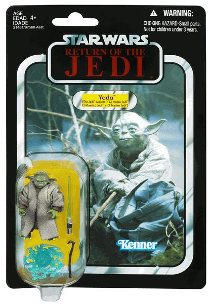Wars Figure Card Template by Yoda Original Yoda Card Exclusive Vc20 Wars