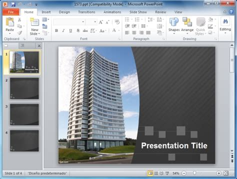 architectural powerpoint template bountr info