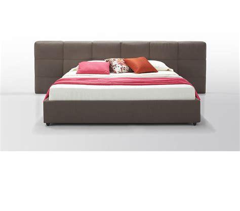 modern leather beds dreamfurniture com samana modern brown eco leather bed
