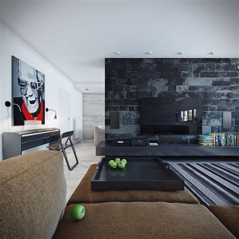 black wall designs tv feature wall design decosee com