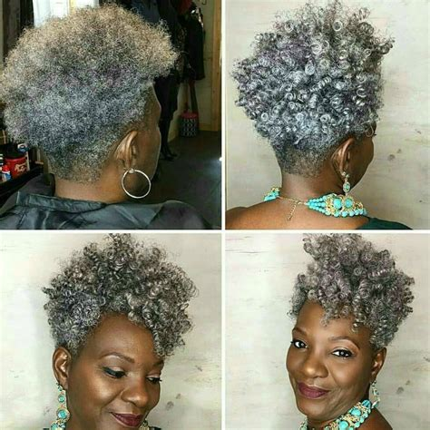 salt pepper african american natural hair images 15 photos of the best salt and pepper hair looks page 18