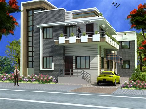 house elevation modern duplex 2 floor house design click on this link