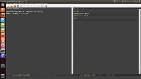 tutorial emacs linux emacs ipython notebook measure of justice