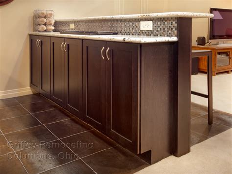 Kitchen Island Build blacklick ohio basement remodel contemporary basement