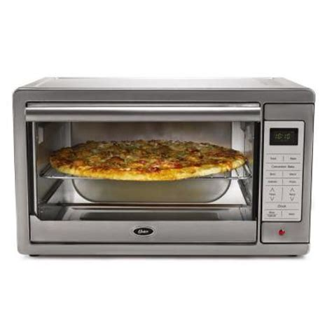 Silver Toaster Oven Oster Large Digital Toaster Oven In Silver