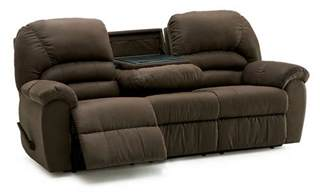 Reclining Sofa And Loveseat Palliser Taurus Casual Reclining Sofa With Center Drop