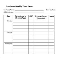 Easy Timesheet Template by Easy Timesheet Template Invitation Template