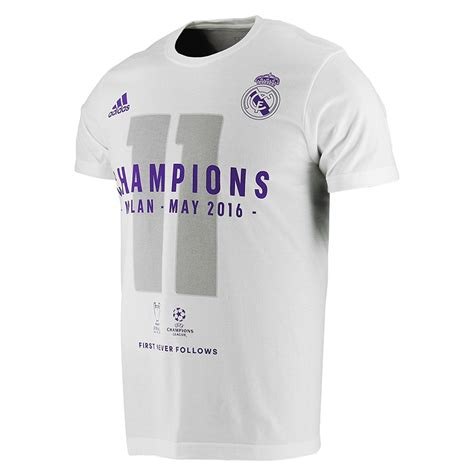 Tshirt Real Madrid Undecima t shirt real madrid chions 2016 adulte