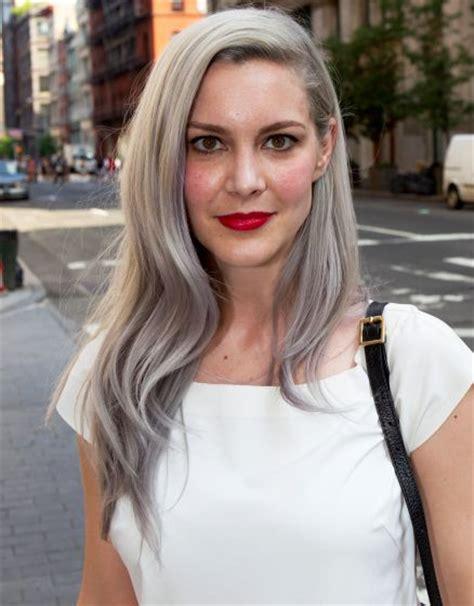 gray hair in 40s 551 best silver white platinum hair images on pinterest