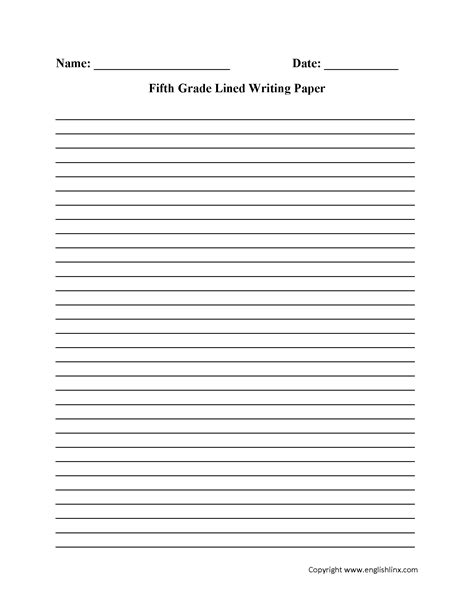 for writing papers writing worksheets lined writing paper worksheets