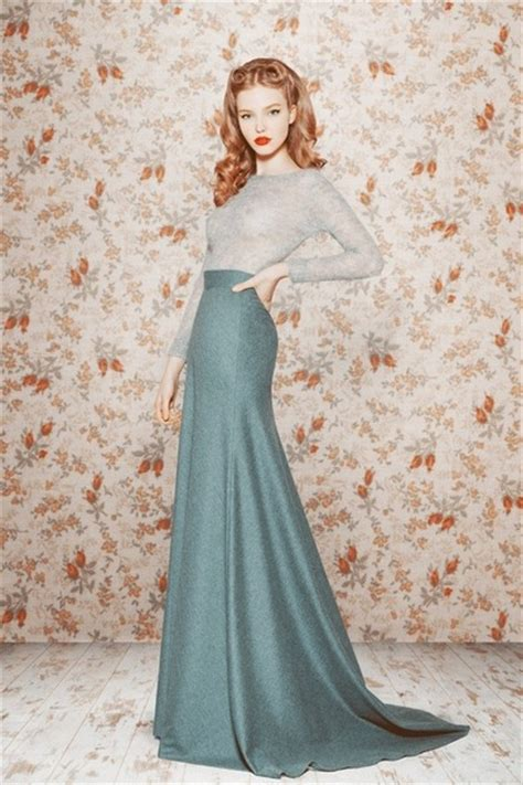 Maxi Moderen turquoise blue maxi skirts periwinkle sweaters quot a modern day tale 3 quot by driftwoodanddaydream