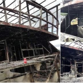 radio jacaranda boat cruise four dead after party boat catches fire owner says crew