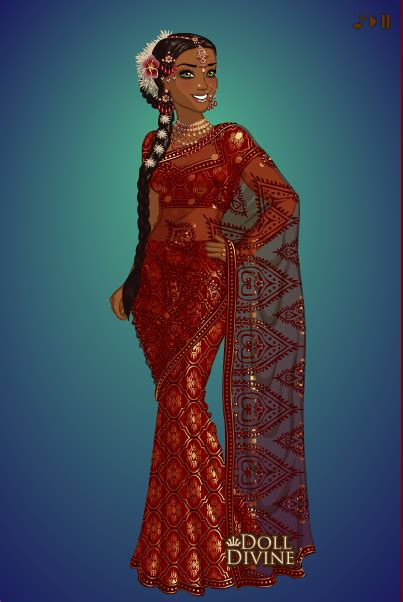 sari maker  dolldivine  deviantart