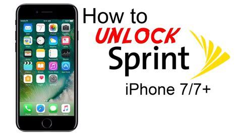 unlock sprint iphone      usa