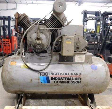 ingersoll rand t30 industrial air compressor jb equipment january k bid