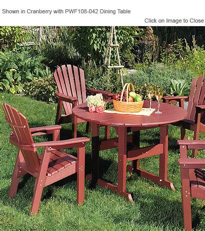 Seaside Casual Chairs by Envirowood Outdoor Poly Furniture Seaside Casual Sea021 Adirondack Shellback Dining Chair
