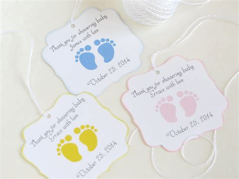 Personalized Baby Shower Gift by Personalized Gift Tags For Baby Shower Erodriguezdesign