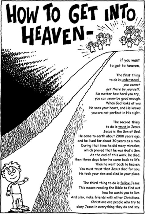 how to get into activity sheet how to get into heaven christart