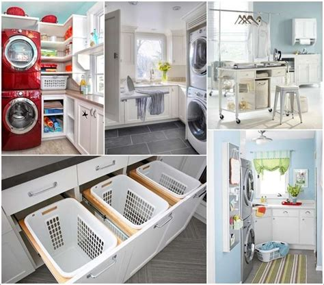 Storage Ideas For Small Bathroom by 15 Awesome Laundry Room Storage And Organization Hacks