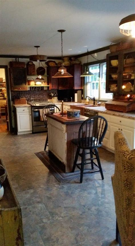 primitive kitchen island 1000 images about country kitchens on islands